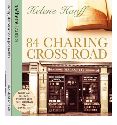 84 Charing Cross Road by Helene Hanff AudioBook CD