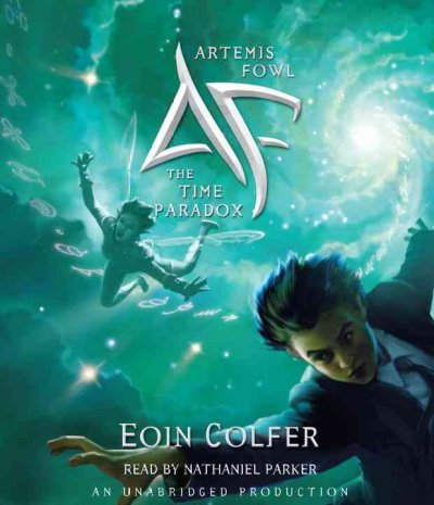 Artemis Fowl and the Time Paradox by Eoin Colfer Audio Book CD