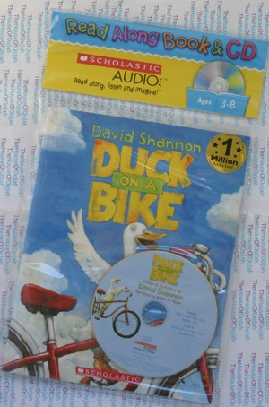 Duck on a Bike - Audio by David Shannon Audio Book CD
