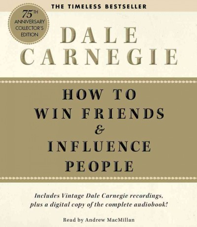 How to Win Friends and Influence People DALE CARNEGIE Audio Book CD