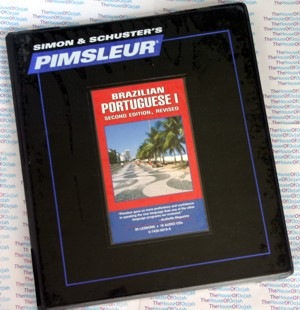 Pimsleur Comprehensive Brazilian Portuguese Level 1 - Discount - Audio 16 CD