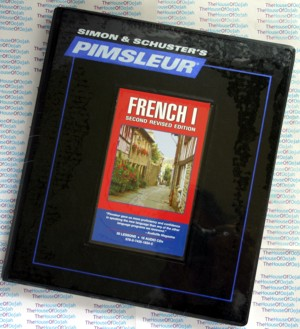Pimsleur Comprehensive French Level 1 - Discount - Audio 16 CD