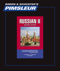 Pimsleur Comprehensive Russian Level 2 - Discount - Audio 16 CD