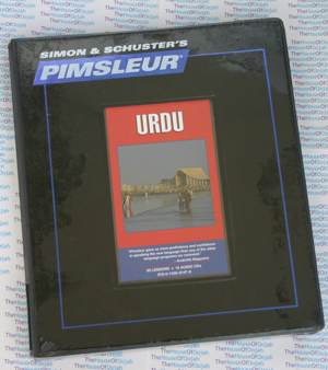 Pimsleur Comprehensive Urdu Level 1 - Discount - Audio 16 CD