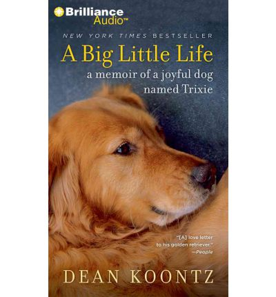 A Big Little Life by Dean R Koontz AudioBook Mp3-CD