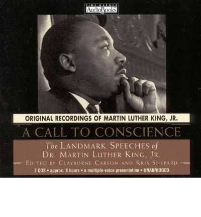 A Call to Conscience by Martin Luther King AudioBook CD
