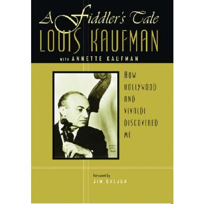 A Fiddler's Tale by Louis Kaufman AudioBook CD