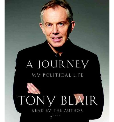 A Journey by Tony Blair Audio Book CD