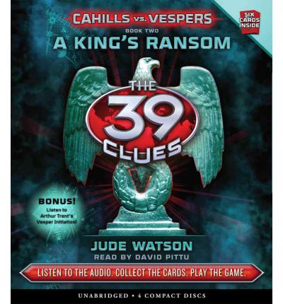 A King's Ransom by Jude Watson AudioBook CD