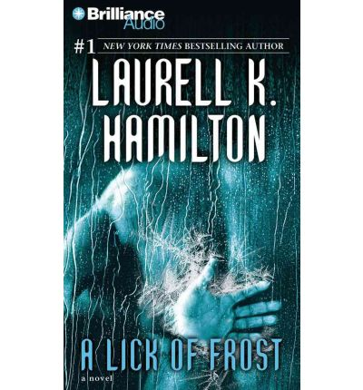 A Lick of Frost by Laurell K Hamilton AudioBook CD