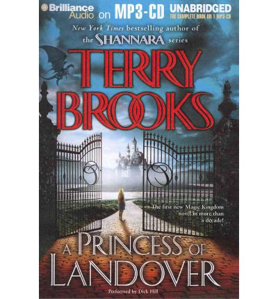 A Princess of Landover by Terry Brooks Audio Book Mp3-CD