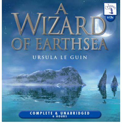 A Wizard of Earthsea by Ursula K. Le Guin Audio Book CD