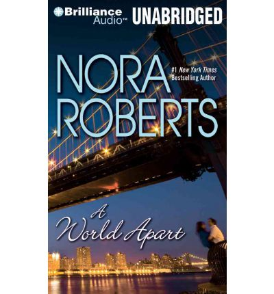 A World Apart by Nora Roberts Audio Book Mp3-CD