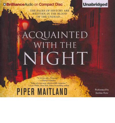 Acquainted with the Night by Piper Maitland Audio Book CD