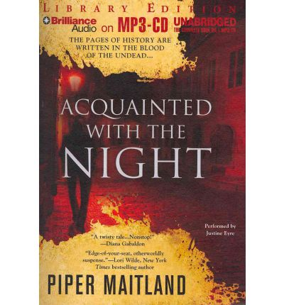 Acquainted with the Night by Piper Maitland Audio Book Mp3-CD