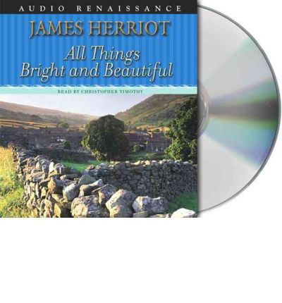 All Things Bright and Beautiful by James Herriot AudioBook CD