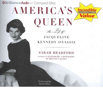 America's Queen by Sarah Bradford Audio Book CD