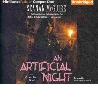 An Artificial Night by Seanan McGuire AudioBook CD