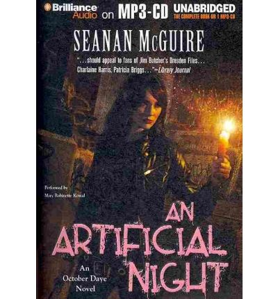 An Artificial Night by Seanan McGuire AudioBook Mp3-CD