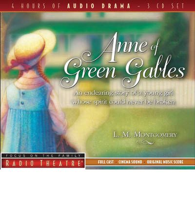 Anne of Green Gables by Lucy Maud Montgomery AudioBook CD