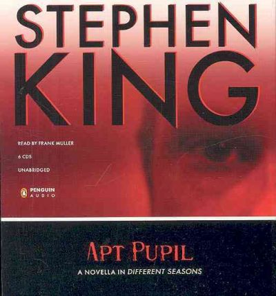 Apt Pupil by Stephen King AudioBook CD