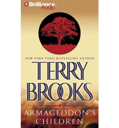 Armageddon's Children by Terry Brooks AudioBook CD