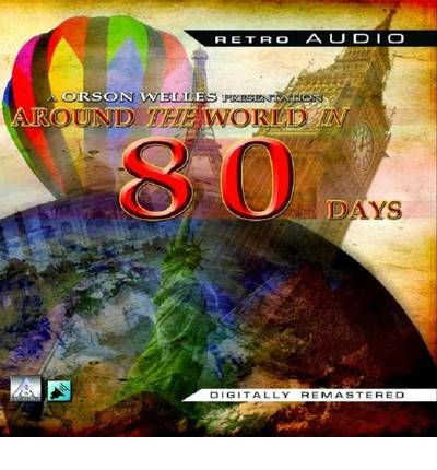 Around the World in 80 Days by Jules Verne AudioBook CD