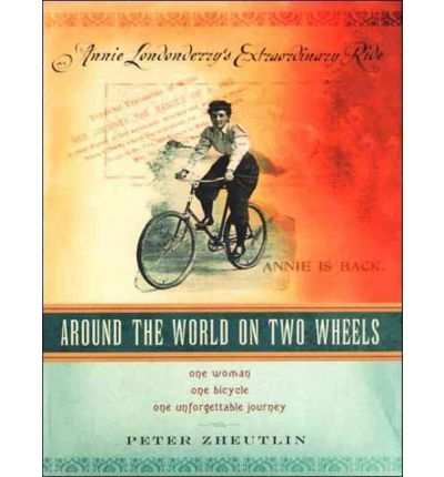Around the World on Two Wheels by Peter Zheutlin Audio Book CD