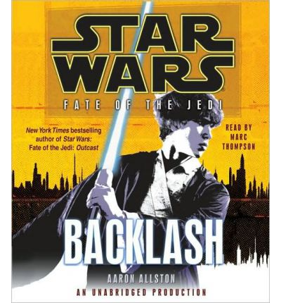 Backlash by Aaron Allston AudioBook CD
