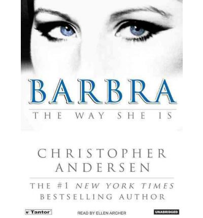 Barbra by Christopher Andersen Audio Book CD