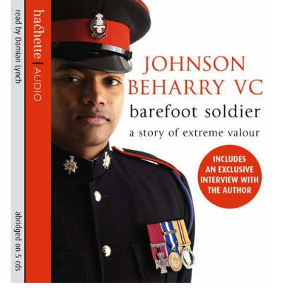 Barefoot Soldier by Johnson Beharry AudioBook CD