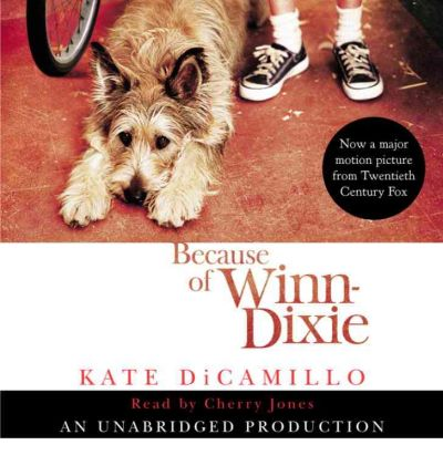 Because of Winn-Dixie by Kate DiCamillo Audio Book CD