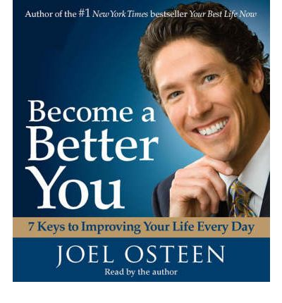 Become a Better You by Joel Osteen AudioBook CD