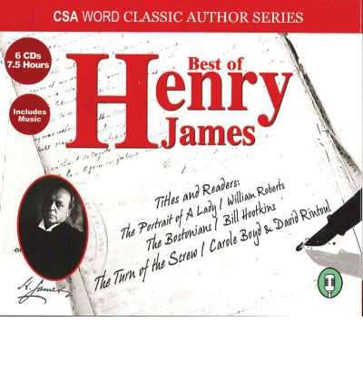 Best of Henry James by Jr.  Henry James Audio Book CD