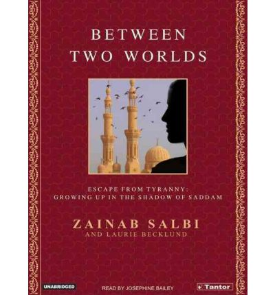 Between Two Worlds by Zainab Salbi AudioBook CD