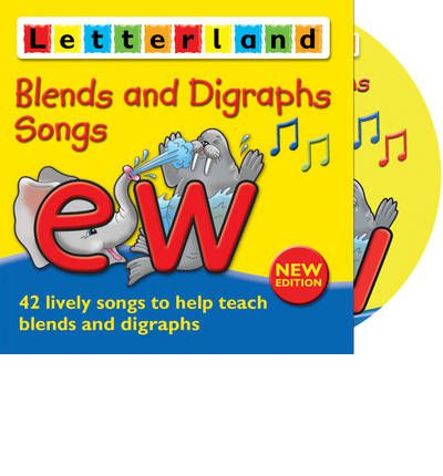 Blends and Digraphs Songs by Fiona Pritchard Audio Book CD