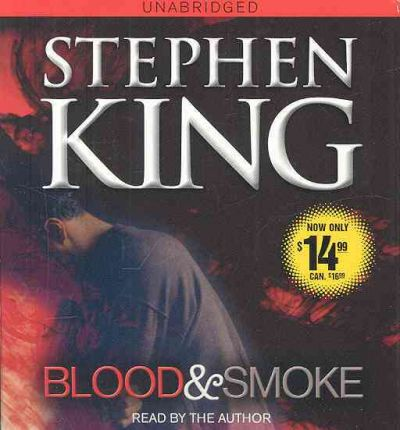 Blood and Smoke by Stephen King AudioBook CD