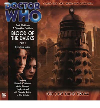 Blood of the Daleks by Steve Lyons AudioBook CD