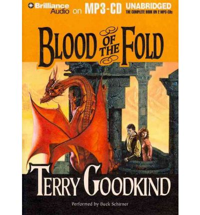 Blood of the Fold by Terry Goodkind AudioBook Mp3-CD