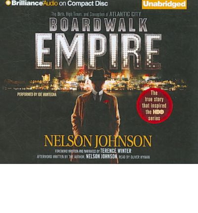 Boardwalk Empire by Nelson Johnson Audio Book CD