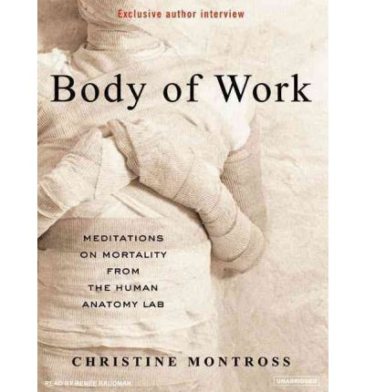 Body of Work by Christine Montross Audio Book Mp3-CD