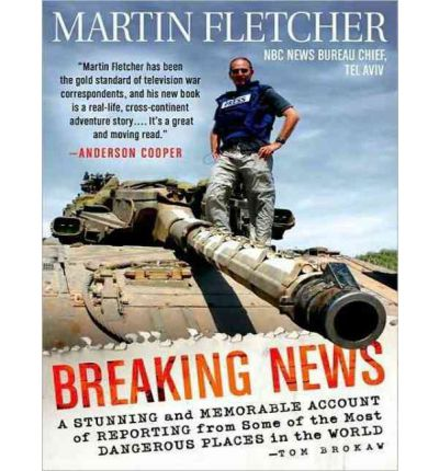 Breaking News by Martin Fletcher AudioBook CD