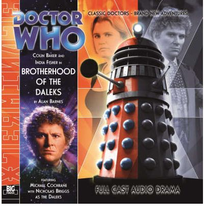Brotherhood of the Daleks by Alan Barnes Audio Book CD