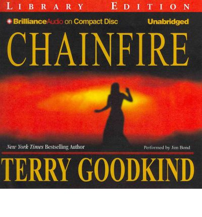Chainfire by Terry Goodkind Audio Book CD