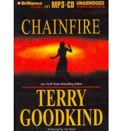 Chainfire by Terry Goodkind AudioBook Mp3-CD