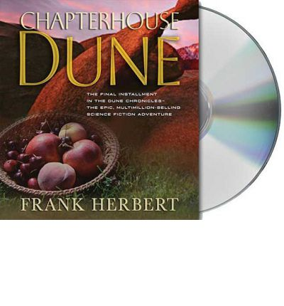 Chapterhouse Dune by Frank Herbert AudioBook CD