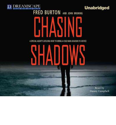 Chasing Shadows by Fred Burton AudioBook CD