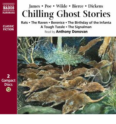 Chilling Ghost Stories by Anthony Donovan Audio Book CD
