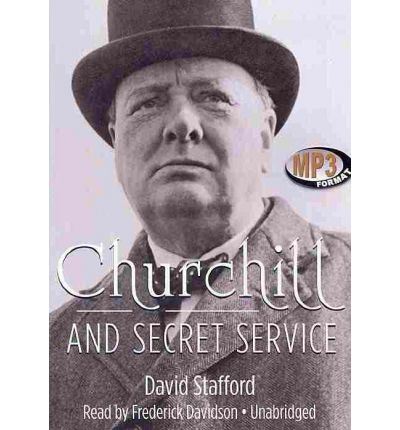 Churchill and Secret Service by David Stafford Audio Book Mp3-CD