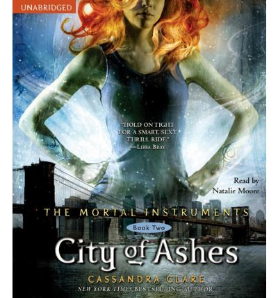 City of Ashes by Cassandra Clare Audio Book CD